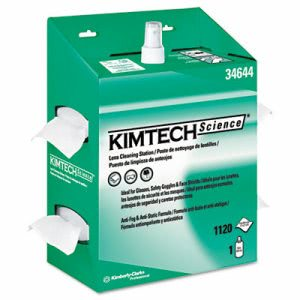 KimTech Science 34644 Lens Cleaning Station, 4 Kits (KCC 34644)