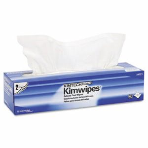 Kimwipes Delicate Task Specialty Wipes Pop-Up Box, 1,350 wipes (KCC 34721)