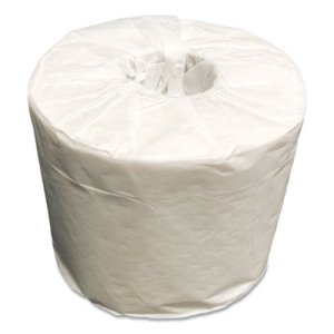 Scott 100% Recycled Fiber Bathroom Tissue, 1-Ply, 550 Sheets/Roll, 80 Rolls/Carton (KCC04460PW)
