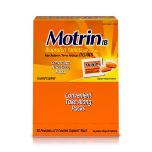 Motrin IB Ibuprofen Tablets, 50 Two-Tablet Packets/Box (MCL48152)