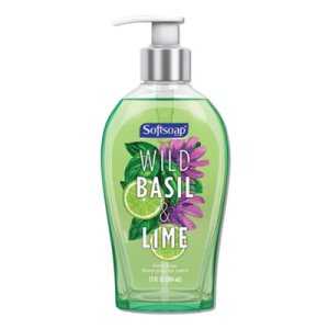 Softsoap Premium Liquid Hand Soap, Basil, Lime, 13 oz, 4/Carton (CPC46827)