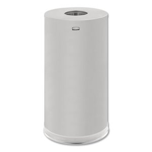 European & Metallic Series Top 15 Gallon Receptacle, Stainless (RCPCC16SSSGL)