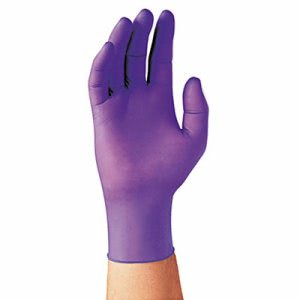 Kimberly Clark Purple Nitrile Exam Gloves, Large, 100 Gloves (KCC55083)