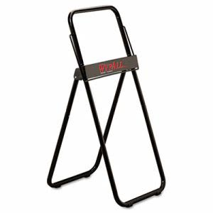 Wypall Jumbo Roll Dispenser Floor Stand, Black, 1 Each (KCC80596)