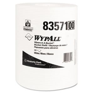 Wypall 83571 Rags in a Bucket Refill, White, 660 Rags (KCC83571)