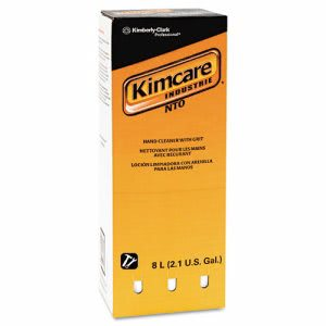 Kimcare NTO Hand Cleaner with Grit, 2 - 8 Liter Refills (KCC 91045)