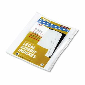 "Kleer-fax 90000 Series Legal Exhibit Index Dividers, 1/26 Cut Tab, Title ""E"", 25/Pack (KLF91805)"