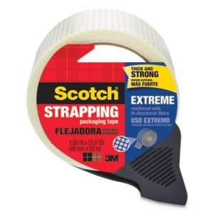 "Scotch Bi-Directional Filament Tape, 1.88"" x 21 yards, 3"" Core (MMM8959RD)"
