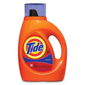 Tide Liquid 2X Laundry Detergent, Original, 6 Bottles (PGC13878CT)