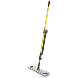 Rubbermaid 1835528 Pulse Microfiber Mopping System, Yellow/Black (RCP1835528)