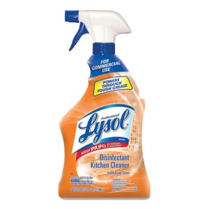 Lysol Antibacterial Kitchen Cleaner, 32-oz, 12 Bottles (RAC74411CT)