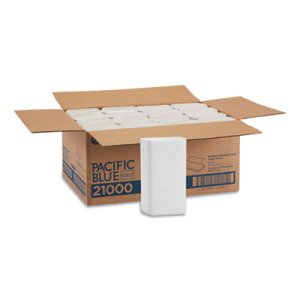 Signature White Multi-Fold Paper Towels, 2,000 Towels (GPC21000)