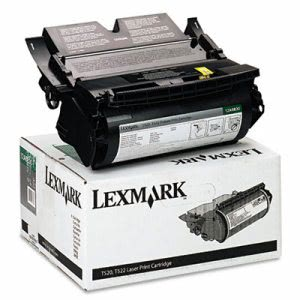 Lexmark 12A6830 High-Yield Toner, 7500 Page-Yield, Black (LEX12A6830)