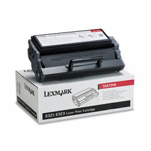 Lexmark 12A7305 High-Yield Toner, 6000 Page-Yield, Black (LEX12A7305)