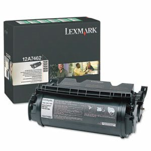 Lexmark 12A7462 High-Yield Toner, 21000 Page-Yield, Black (LEX12A7462)