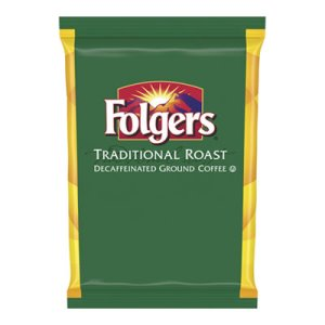 Folgers Ground Coffee 1.5 oz. Packs, Classic Roast Decaf, 42 Packs (FOL63018)