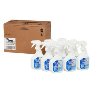 Clorox Clean-Up Disinfecting Cleaner with Bleach, 9 Bottles (CLO35417CT)