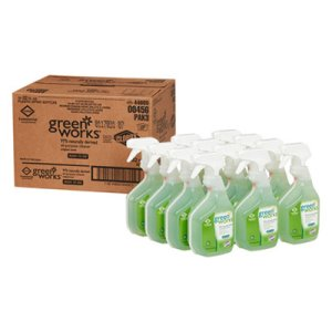 Green Works Natural All-Purpose Cleaner, 12 Spray Bottles (CLO00456CT)