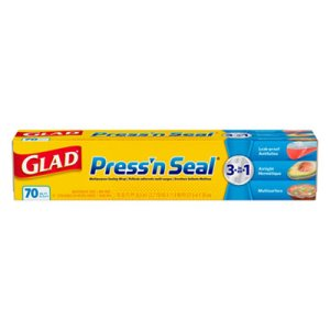 Glad Press'n Seal Plastic Food Wrap, 12 Rolls (CLO70441)