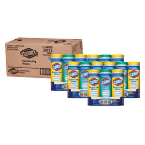 Clorox Disinfecting Wipes, Fresh & Citrus, 15 Canisters (CLO30112CT)