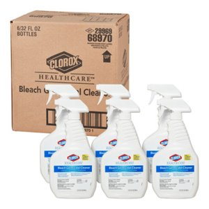 Clorox Bleach Germicidal Cleaner, 6 Trigger Spray Bottles (CLO68970)