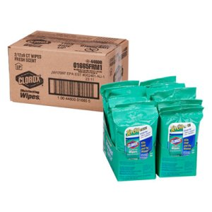 Clorox Disinfecting Wipes To Go, Fresh Scent, 24 Packs (CLO01665)