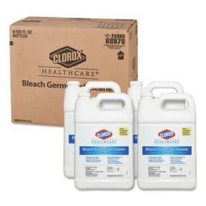 Clorox Hospital Germicidal Bleach Cleaner, 4 Gallons (CLO68978)