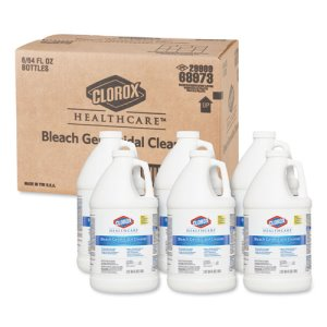 Clorox 68973 Hospital Bleach Germicidal Cleaner Refills, 12 Quarts (CLO68973)