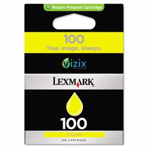 Lexmark 14N0902 (100) Ink, 200 Page-Yield, Yellow (LEX14N0902)