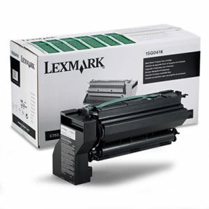 Lexmark 15G041K Toner Cartridge, 6000 Page-Yield, Black (LEX15G041K)