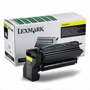 Lexmark 15G042Y High-Yield Toner, 15000 Page-Yield, Yellow (LEX15G042Y)