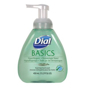 Dial Foaming Hand Wash, Original Fresh Scent, 15.2oz, 4/Container (DIA98609)