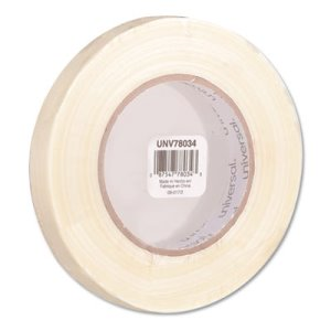 "Universal Medium-Duty Filament Tape, 3/4"" x 60 yards, 3"" Core (UNV78034)"