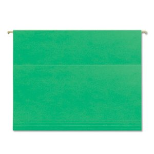 Smead Tuff Hanging Folder with Easy Slide Tab, Letter, Green, 18/Pack (SMD64042)