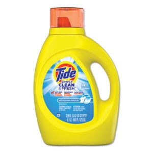 Tide Simply Clean & Fresh Laundry Detergent, Refreshing Breeze, 100 oz Bottle (PGC44206EA)