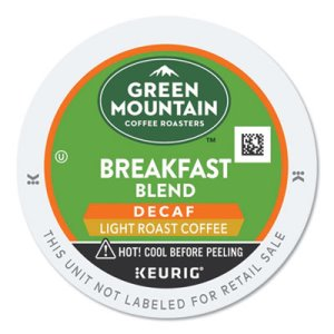 Green Mountain Breakfast Blend, Light Roast, 24 K-Cups (GMT7522)