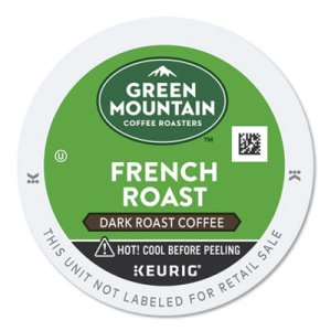 Green Mountain French Roast, Dark Roast K-Cups, 24/Box (GMT6694)