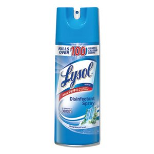 Lysol Disinfectant Spray, Waterfall, 12.5-oz. Aerosol Can, 12 Cans (RAC02845)