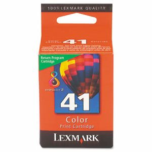 Lexmark 18Y0141 (41) Color Print Cartridge, Tri-Color (LEX18Y0141)