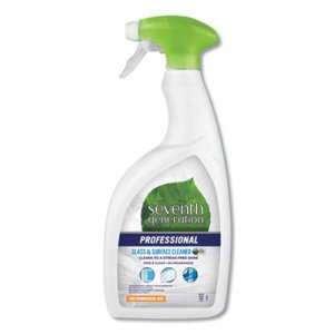 Seventh Generation Free & Clear 32 oz Glass Cleaner, 8 Bottles (SEV44730CT)