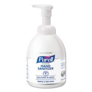 Purell 579104 Advanced Green Certified Hand Sanitizer Foam, 4 Btls (GOJ579104CT)