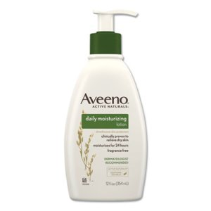 Aveeno Daily Moisturizing Lotion, 12 oz Pump Bottle, Each (JOJ100360003)