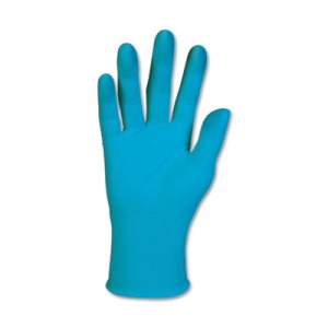 KleenGuard G10 X-Large Blue Nitrile Gloves, Powder-Free, 90 Gloves (KCC57374)