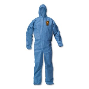 Kleenguard A20 Breathable Protection Coverall, XL, BL, 24 Coveralls (KCC58514)