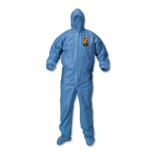 KleenGuard A60 Splash Protection Coveralls, XXX-Large, 20 Coveralls (KCC45096)