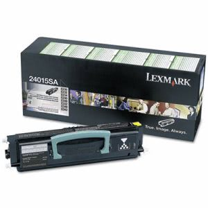 Lexmark 24015SA Toner Cartridge, 2500 Page-Yield, Black (LEX24015SA)