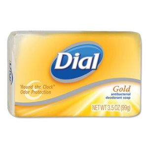 Dial Antibacterial Deodorant Wrapped Bar Soap, 72 - 4 oz. Bars (DIA02401)