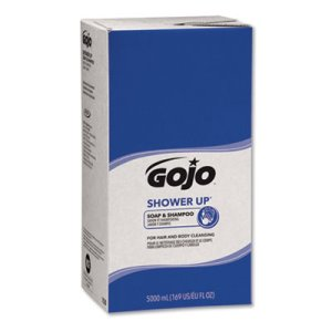 Gojo Shower Up Soap & Shampoo, Rose, Pleasant Scent, 5000 ml Refill (GOJ7530)