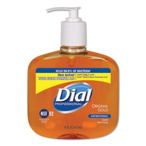 Dial Gold Antimicrobial Hand Soap, Floral, 16-oz Pump, 12 Bottles (DIA80790CT)