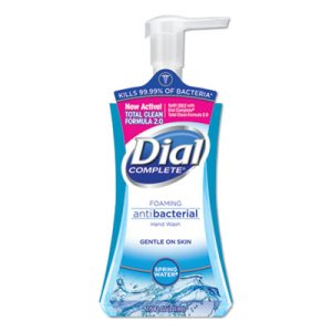 Dial Gold Antimicrobial Hand Soap, 1 Liter Bottle, 8 Bottles (DIA84019)